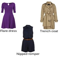 Best tops, shirts, dresses, sweaters and jackets for inverted triangle body shape
