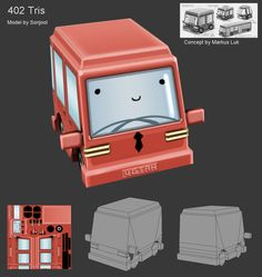 LOWPOLY (sub 1000~ triangle models) - Page 420 - Polycount Forum