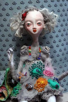 Unusual+Art+Dolls | unique art doll PAULINA