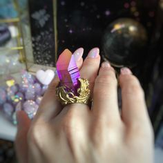 One of my favorite rings ever! Waiting for someone special  💜☀️✨🌟