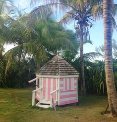 India's daughter Domino has the most precious island playhouse.