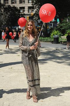 Olivia Palermo in #Zara attends SKII #ChangeDestiny Dream Again at Madison Square Park on June 21 2016 in New York City