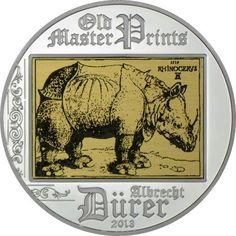 5 Dollar Silber Albrecht Dürer - Rhinoceros PP