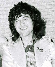 Jimmy Page that smile!