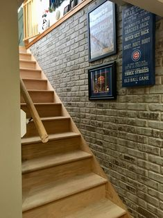 Faux Brick Wall Panels, Brick Wall Paneling, Faux Stone Walls, Brick Accent Walls, Fake Brick Walls, Basement Makeover, Basement Renovations, Kitchen Remodeling, Remodeling Ideas