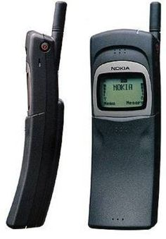 "Nokia 8110 - Phone used and made popular by ""The Matrix"" movie"