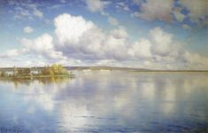 Констянтин Крижицький - Озеро (1896)