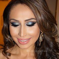 • Tamanna Roashan • @dressyourface Instagram photos | Websta maccosmeticsstudio fix |@anastasiabeverlyhillscontour kit |@beccacosmeticsopal highlight |@maccosmeticscoppertone blush |#TamannaPaletteon eyes with hint of MAC Freshwater (for the blue tone between Venezia and Noir) |@model21lashesstyle 21 |@girlactikblack felt liner pen |@anastasiabeverlyhillsbrow wiz brunette |@maccosmeticsmorning coffee lip liner with Ravishing lipstick