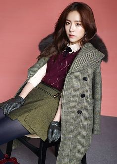 More ANA CAPRI F/W 2015 Visuals Feat. Han Ji Min | Couch Kimchi