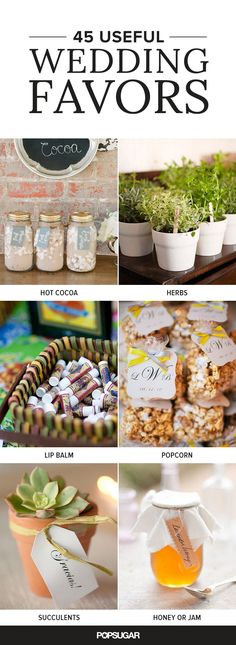 When you're trying to decide what kind of wedding favors you should give to your guests, one thing you should consider is if they'll keep them. After all, it's such a waste of money if your guests are trashing the favors as soon as they get home. Here are some wedding favor suggestions that will make your guests think twice about throwing them away.