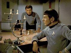 Once futuristic chess (Star Trek)