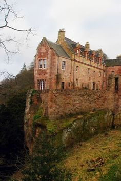 Suzy Grange - Google+ - Hawthornden Castle is hidden in Roslin Glen near Edinburgh.…