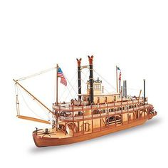 """MISSISSIPPI II. Los barcos que ayudaron a reducir la inmensidad de América y, como """"barcos teatro"""", redujeron la soledad de esta inmensidad. ¡América no sólo es modernismo: también es romance y sueños! // They helped to shrink the vastness of America and, as showboats, they made that vastness a little less lonely. America is not only vibrant and modern, but can also be the land of romance and dreams!"""