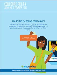 Air Caraïbes - Cross Platform - Photo Contest - #Socialshaker