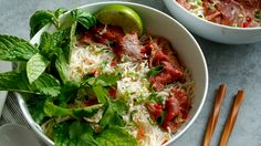 Vietnamese Beef-and-Noodle Soup (Pho Bo)