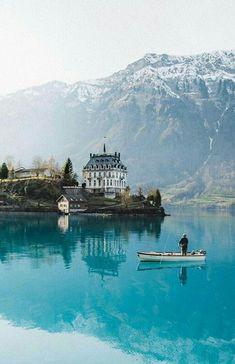 Iseltwald Brienzersee, Switzerland