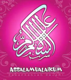 14 Best Kaligrafi Assalamualaikum Images