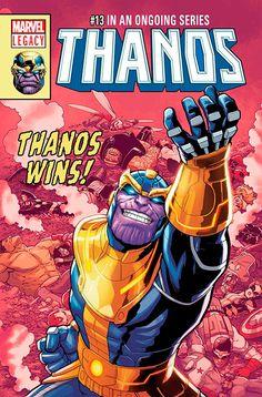 """Танос уничтожает Вселенную Марвел в рамках Marvel Legacy. Читайте комикс """"Thanos"""" #13"""