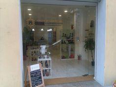 Vetrina di Italia di Gusto, shop di prodotti tipici italiani realizzato