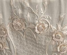 Embroidered silk wedding dress. Вышитые свадебные шелковые платья 1910-1935гг