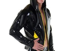 shirtless men in rubber pants - Bing images Latex Men, Mens Leather Pants, Shirtless Hunks, Skin Tight, Good Looking Men, Leather Fashion, Shirt Outfit, Hooded Jacket, How To Look Better