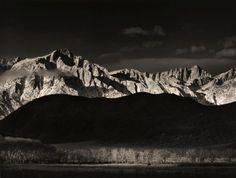 Ansel Adams:  Winter Sunrise