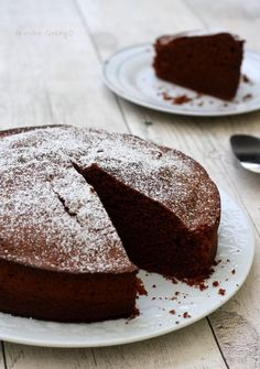 Photographies et recette non libres de droit - Amandine Cooking © Fluffy Chocolate Cake, Chocolate Cake Recipe Easy, Chocolate Pastry, Fall Dessert Recipes, Cake Recipes, Food Cakes, Cupcake Cakes, Desserts With Biscuits, Tray Bakes