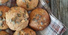 Eltefrie+solsikkerundstykker Muffin, Breakfast, Mat, Morning Coffee, Muffins, Cupcakes