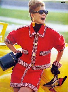 Niki by Patrick Demarchelier, 1990 www.fashion.net