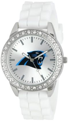 Compare Carolina Panthers Womens Watch prices and save big on Panthers Womens Watches and Carolina Panthers Women's Gear by scanning prices from top retailers. Nfl Panthers, Carolina Panthers, Fan Gear, Rolex Watches, Frost, Bracelet Watch, Football, Band, Recipes