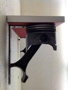 Piston Shelf by ScrapIronDesigns on Etsy: