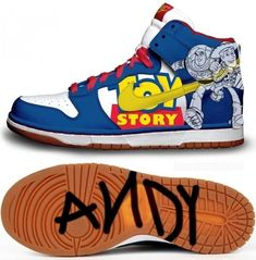 """Nikes Makes """"Toy Story"""" Shoes"""