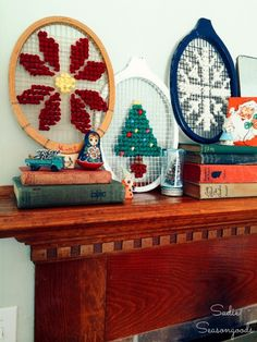 Oversized Christmas Cross Stitch Designs with Free Patterns!