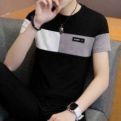 Cheap T Shirts, Casual T Shirts, Tee Shirts, Male T Shirt, Shirt Men, Top Streetwear, Basic Tops, Shirt Style, Mens Fashion