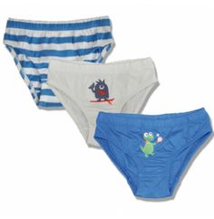 Frugi Σλιπάκια από 100% Οργανικό Βαμβάκι Sporty Creatures (Σετ των 3) Bikinis, Swimwear, Trunks, Underwear, Swimming, Sporty, Pants, Fashion, Bathing Suits