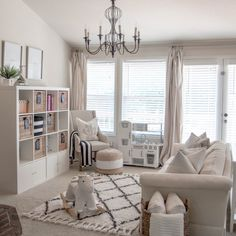 Feature Friday: Coastal Neutral Playroom {House of Five} - A Burst of Beautiful Family Room Playroom, Little Girls Playroom, Playroom Ideas, Modern Playroom, Kid Rooms, Playroom Organization, Playroom Design, Playroom Decor, Boy Room