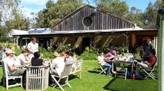 Cape Bouvard Winery and Brewery, WA, Australia. An idyllic place to stop for a light lunch when travelling from Perth to Dunsborough & Margaret River. There's also grassed lawns with heaps of space for the kids to play on!