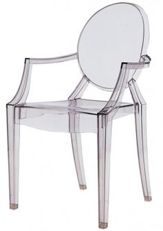 Louis Ghost Chair Replica - Philippe Starck Transparent Armchair