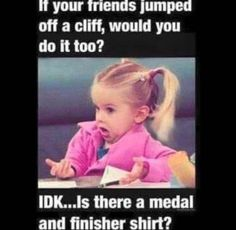 We all love a good running meme! NYC Running Mama has put together a list of her top 10 favorites that couldn't be more truthful of the running experience!
