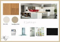 Kjøkken moodboard