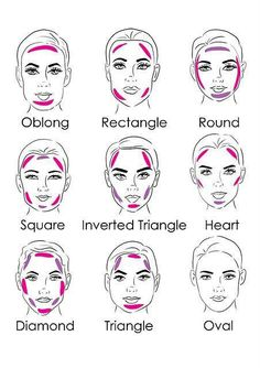 How to properly contour to get an oval shaped face