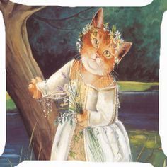Shakespeare Cats - Cat Art by Susan Herbert Costume Chat, Cat Costumes, Fancy Cats, Cute Cats, Chat Web, Shakespeare Characters, Hamlet Shakespeare, Catgirl, Cat People