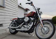 2012 Added to the 2012 model year are the new Seventy-Two. Harley Davidson History, Harley Davidson Sportster, Harley Davidson Motorcycles, Biker Clubs, Motorcycle Clubs, Harley Handlebars, Harley 48, Custom Sportster, Good Times Roll