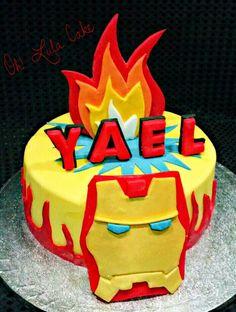 Tarta Iron Man cake