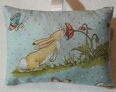 Rabbit Gift / Rabbit Fabric Lavender Bag / Guess How Much I Love You / Valentine