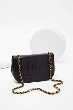 Vintage Chanel Foldover Bag