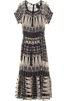 anna sui maxi dress - perfect with tall black boots!