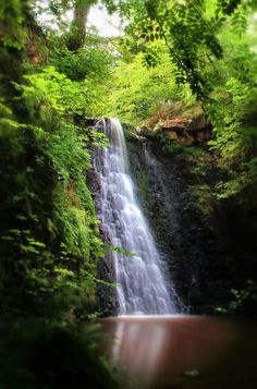 Falling Foss, Waterfall, North Yorkshire Moors Isnt Yorkshire amazing :-)