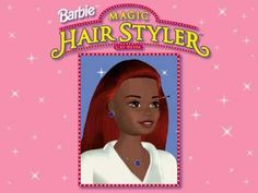 Barbie Magic Hairstyler Game PC Flashback  hairstyle games | hairstyles