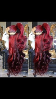 Pin by Bever-Leigh Holden on Hair stuff in 2019 Baddie Hairstyles, My Hairstyle, Weave Hairstyles, Pretty Hairstyles, Ponytail Hairstyles, Short Hairstyles, Hair Laid, Pinterest Hair, Lace Hair